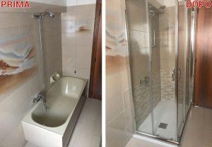 Da vasca a doccia idraulico provincia di ancona jesi senigallia