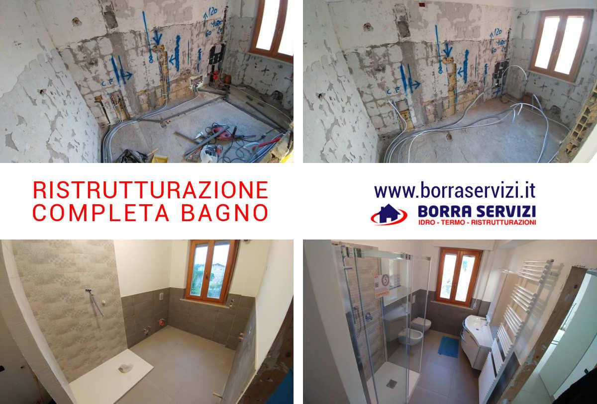 Ristrutturazione bagno, appartamento provincia Ancona - Borra ...